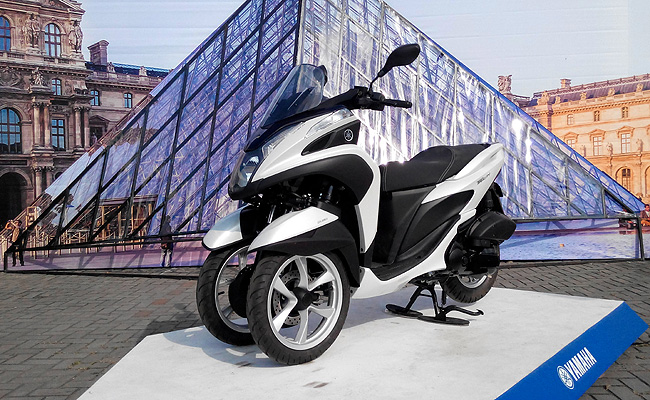 TopGear.com.ph Philippine Car News - Yamaha PH launches three-wheeled Tricity scooter