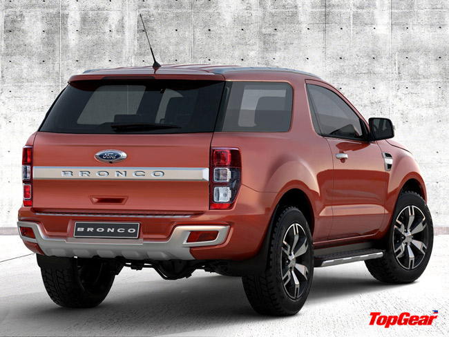 Wondering how a 21st century Ford Bronco would look like?
