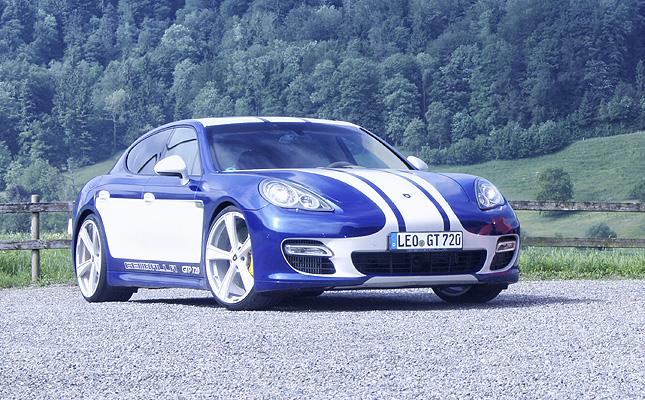 TopGear.com.ph Philippine Car News - Porsche Panamera-based Gemballa GTP 720 breaks 300kph