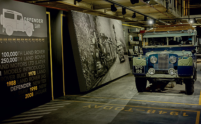 TopGear.com.ph Philippine Car News - Land Rover recreates original Defender production line
