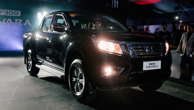 Nissan Philippines' sales target for its all-new Navara pickup truck