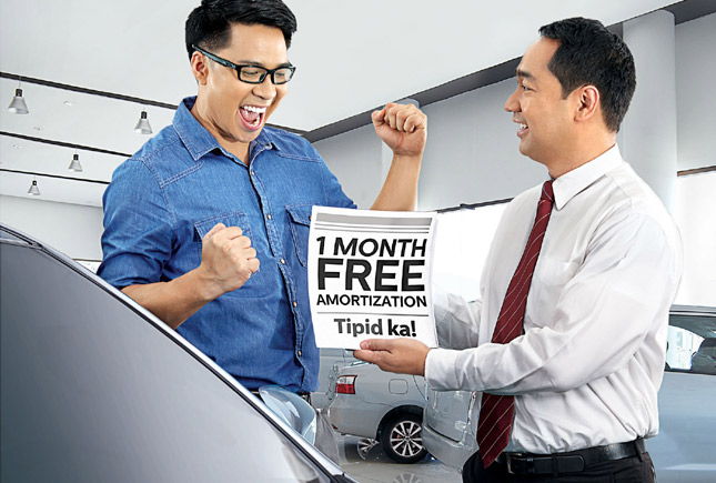 BPI Family Auto Loan offers Bagong Kotse, 1-Month Libre promo