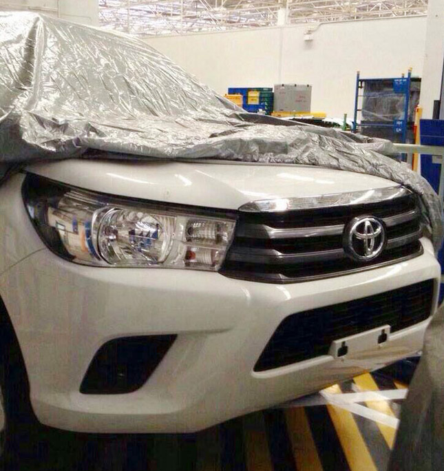 All-new Toyota Hilux?