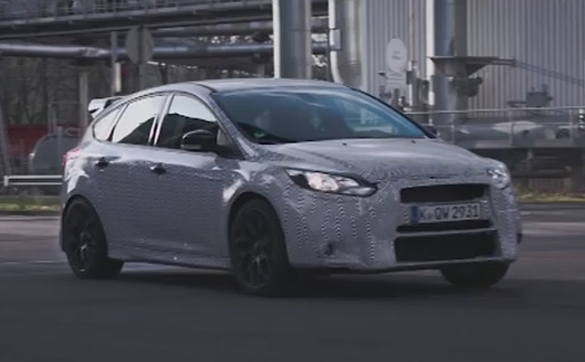 TopGear.com.ph Philippine Car News - Video: Ford lets Ken Block have fun with its Focus RS prototype