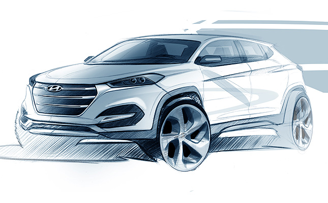 TopGear.com.ph Philippine Car News - All-new Hyundai Tucson looks like baby Santa Fe