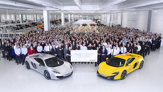 TopGear.com.ph Philippine Car News - McLaren Automotive marks milestone with its Super Series vehicles