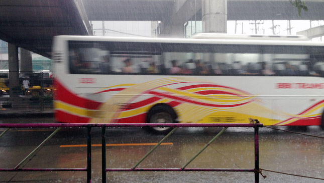 Express bus on EDSA