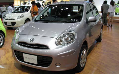 TopGear.com.ph Car News - Image of the Nissan March at the 31st Bangkok International Motor Show