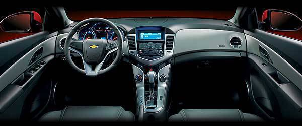 TopGear.com.ph Car News Chevrolet Cruze interior image