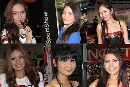 TopGear.com.ph Philippines Car Features - Trans Sport Show babes