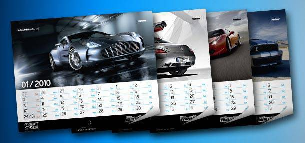 Top Gear Philippines calendar