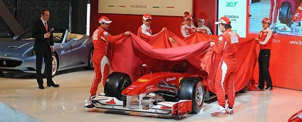TopGear.com.ph Ferrari unveils F10 Formula One 2010 race car
