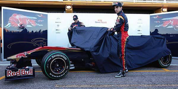 TopGear.com.ph F1 News Toro Rosso STR5 race car launch