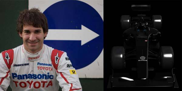 Timo Glock to Manor Grand Prix