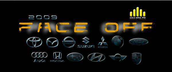 Face Off Car Show Logo