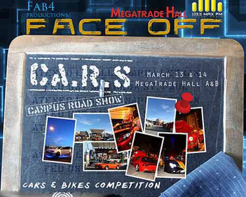 TopGear.com.ph Philippnie Car News - Face Off Campus Road Show poster image
