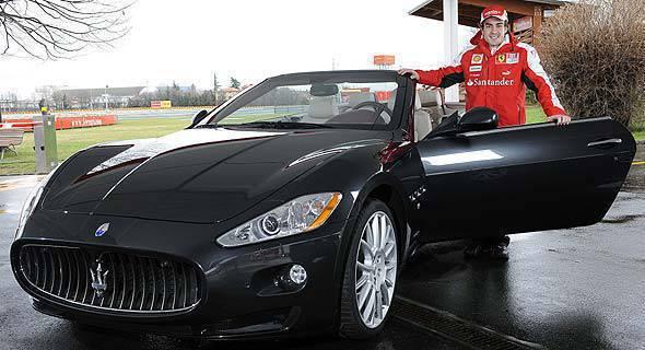 TopGear.com.ph Philippine Car News Fernando Alonso Maserati GranCabrio