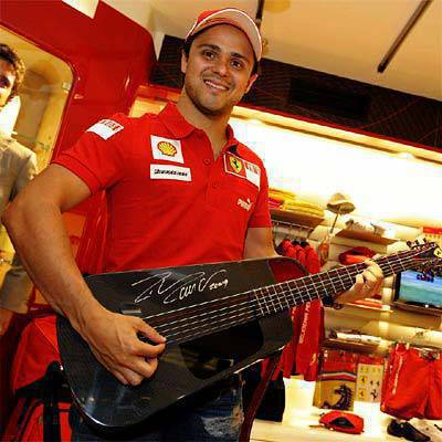 Ferrari Blackbird Guitar