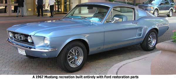 TopGear.com.ph Car News - 1967 Ford Mustang Recreation (Photo from Ford)