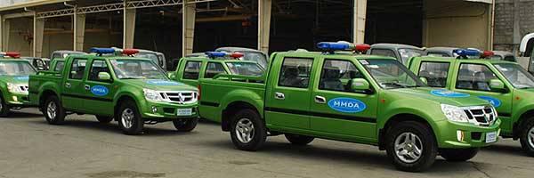 TopGear.com.ph Philippine Car News - MMDA's Foton Pickup Trucks