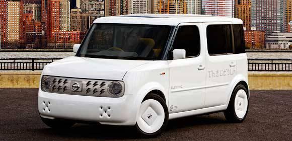 Nissan Electric Vehicle Concept Car