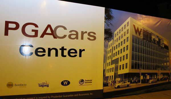 TopGear.com.ph Philippines Car News - PGA Car Center at The Fort