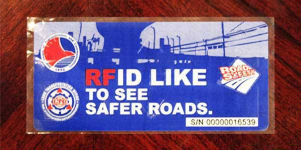 TopGear.com.ph Philippine Car News - RFID sticker