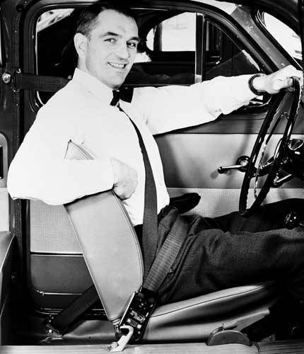 3-point seatbelt in 1959