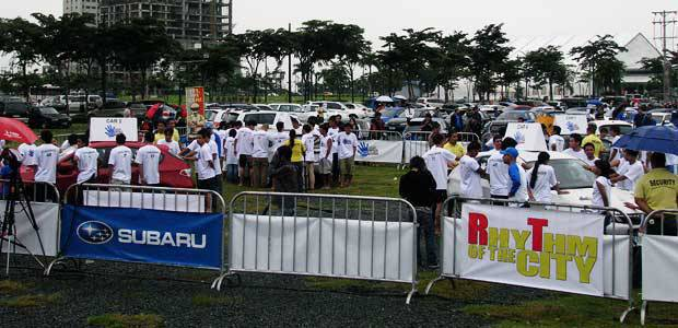 Subaru Impreza Challenge Manila Leg Top Gear Philippines AUTO NEWS