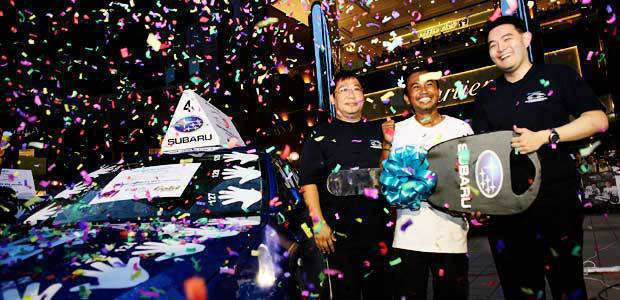 Mohamad Anuar Subaru Impreza Challenge Champion Top Gear Philippines AUTO NEWS