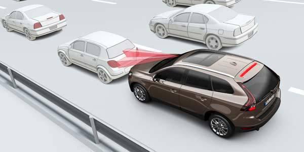 Volvo XC60 low speed auto brake