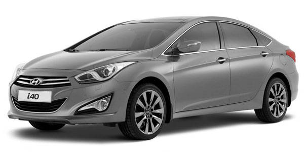 Hyundai reveals i40 sedan in Barcelona