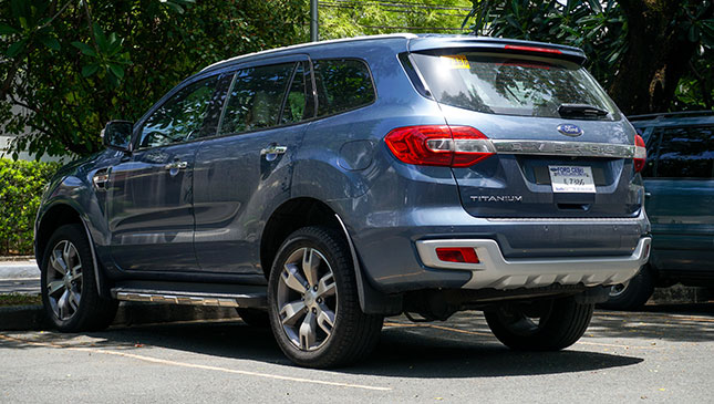 Review Ford Everest Titanium 4x2 At Drives Top Gear Philippines