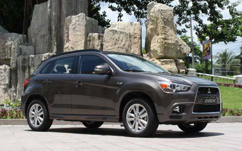 Mitsubishi Reveals All New Asx Crossover Vehicle S Price