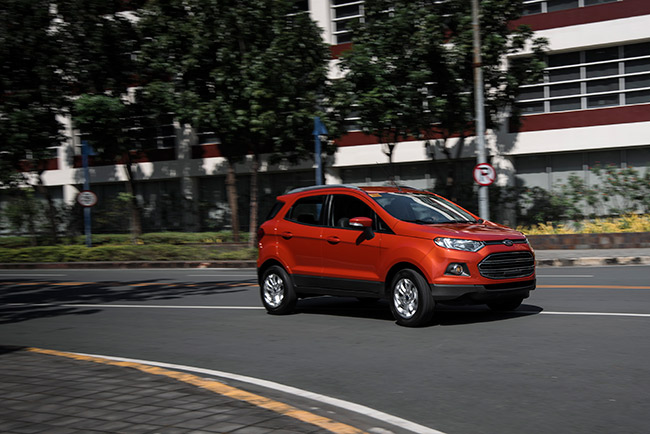 Test drive the Ford EcoSport at a mall near you