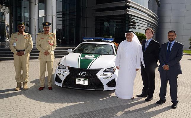 TopGear.com.ph Philippine Car News - Dubai Police add Lexus RC F to its fleet