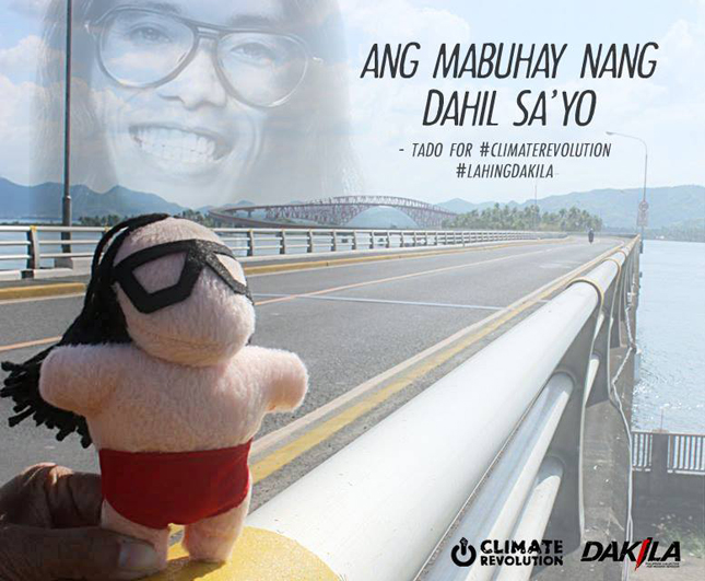 Dakila road safety campaign