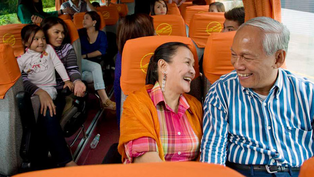 Bus express program on EDSA
