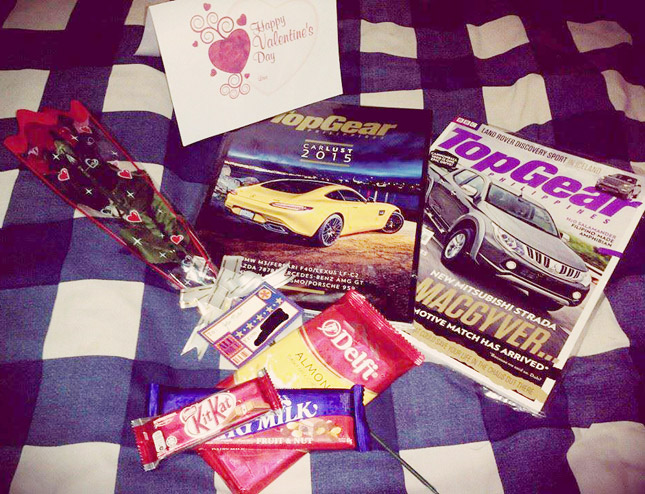 Cars and Valentine's Day