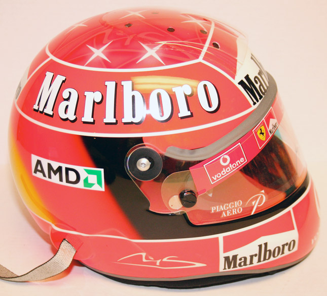 Michael Schumacher Formula 1 helmet