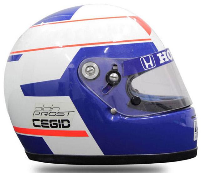 Alain Prost Formula 1 helmet