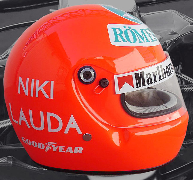 Niki Lauda Formula 1 helmet