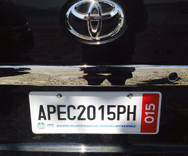 Toyota supports 2015 APEC.