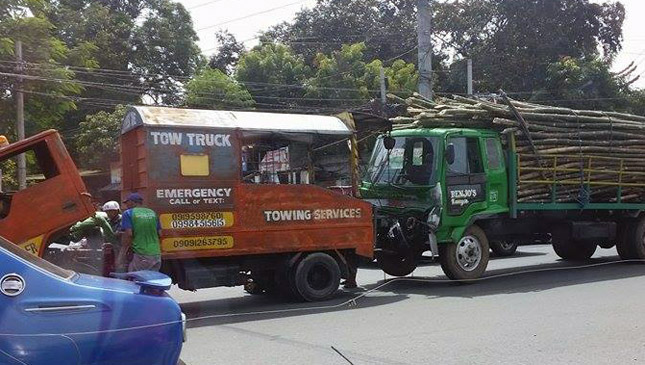 Tow truck in the Philippines