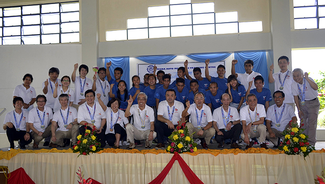 Isuzu's Tacloban training center reopens