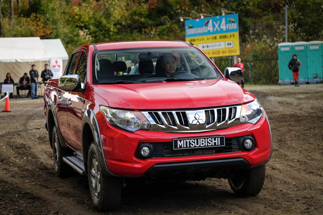 All-new Mitsubishi Strada