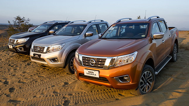 15 Images We Test Drive The All New Nissan Np300 Navara In Ilocos Norte