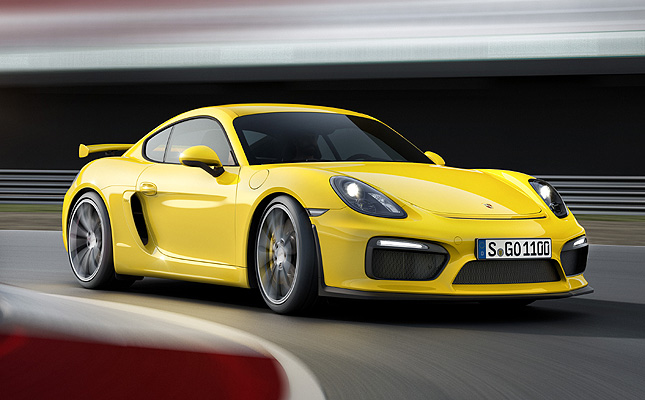 TopGear.com.ph Philippine Car News - Porsche to premiere Cayman GT4 at Geneva Motor Show