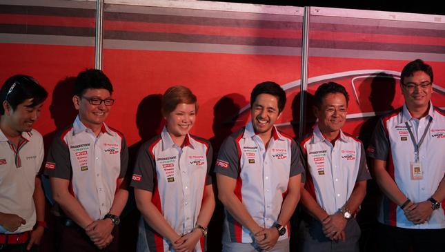 2015 Toyota Vios Cup presscon