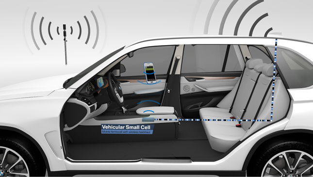 BMW Vehicular Small Cell